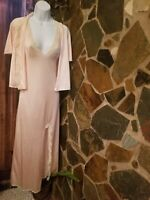 Vintage  Nightgown Robe Peignoir SET ! Gorgeous