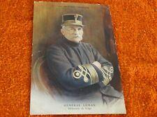 carte postale militaire - général leman