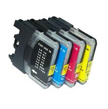 4 Tintas compatibles NON-OEM para Brother DCP-195C DCP195C DCP 195C