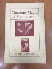 Cigarette Magic and Manipulation By Devil Deveen Magic Book