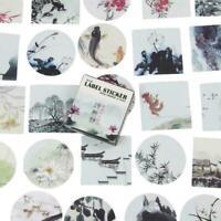 40pcs / set kawaii papier aufkleber diy niedlich foto tagebuch dekor M7V1