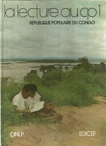 Congo Ancien manuel scolaire de CP1 - République populaire du Congo 1976  Edicef