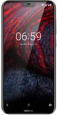 """New Nokia 6.1 Plus Unlocked Dual SIM-4GB RAM+64 GB ROM-5.8"""" FHD+ Display-Black"""