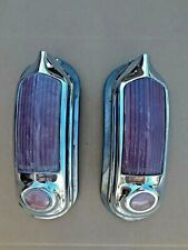 1949-1951 Oldsmobile Tail Light Assembly - Matching Pair- Used Vintage Originals