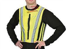 Gilet giacca giallo alta visibilità jacket bright top omologata CE Oxford XL 2XL