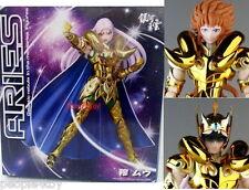 GALAXY Saint Seiya GOLD cloth ARIES MU action figure+KIKI HEAD Parts #myth ex