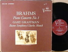 RCA VICTROLA Brahms GRAFFMAN Piano Concerto #1 MUNCH VICS-1109