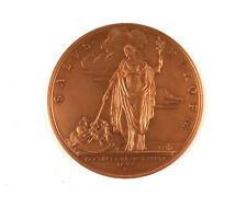 Médailles françaises en bronze