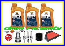 Kit Tagliando HONDA CBR 600 RR 08 Filtro Aria Olio REPSOL 10W40 Candele NGK 2008