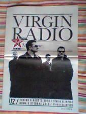 U2 CONCERTO ITALIA 2010 MAGAZINE VIRGIN NUMERO UNICO FUORI COMMERCIO NUOVO