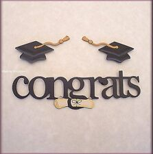 Congrats Graduation Metal Magnets Set of 3 Embellish Your Story by Roeda