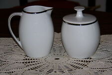 Porzellan China -Gracious Lady - Sugar Bowl and Creamer Set