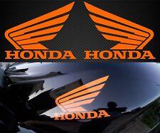 Honda Wing Fuel Tank DECAL PAIR Motorcycle