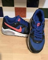 Nike Air Max Command Trainers Blue Black UK 3 EU 35.5 407759-480 2015