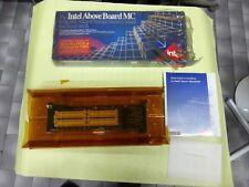 INTEL ABOVE BOARD MC MICRO CHANNEL MEMORY BOARD IBM PS/2 AND 100% COMPATIBLES