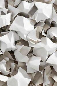 Papier-Verpackungschips weiss weiss 240 Liter 1 Karton Füllmaterial Polster