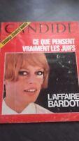 "Brigitte Bardot Revista Candide"" DE Bardot"" N º 346 1967"