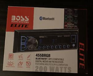 Boss Audio 455BRGB Elite AM/FM Bluetooth Digital Media Receiver New