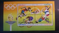 Hong Kong 1992 Olympic Games MS MS700  MNH