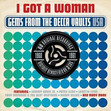 I GOT A WOMAN - GEMS FROM THE DECCA VAULTS USA 1961-1962 (NEW SEALED 3CD SET)