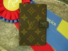 RARE Vintage FC LOUIS VUITTON Agenda Cover Portfolio Organizer Wallet LV SHARP
