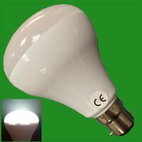 2x 6W R80 LED Reflector 6500K Daylight White Spot Light Bulb Bayonet BC B22 Lamp
