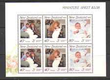 New Zealand 1989 Royalty/Health/Baby 6v m/s (n15798)