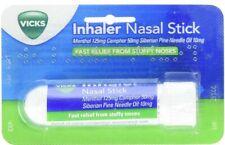 Nasal Stick Inhaler for Blocked Stuffy Nose Fast Relief Menthol Camphor 50 ml