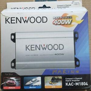 Kenwood KAC-M1804, Marine, ATV, Car, Motorcycle compact AMP Amplifier