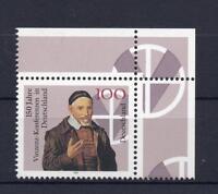 Bund Mi-Nr 1793 Ecke 2  150 J. Vinzenz-Konferenzen ** Postfrisch