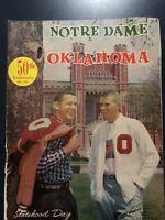 1957 Notre Dame Versus Oklahoma Sooners Football Program Streak Ends!