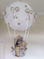 Hot Air Balloon Lamp light shade Beige