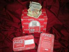 "LILLIPUT LANE ""COCA COLA"" RETIRED MIB COA HOOK LINE and SINKER"