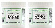 CALCIUM LACTATE 50g AND SODIUM ALGINATE 50g MOLECULAR GASTRONOMY SPHERIFICATION
