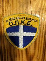 GREECE PATCH POLICE SWAT SRT O.П.К.Е. TEAM  - ORIGINAL!