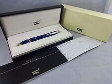 MONTBLANC StarWalker Cool Blue Ballpoint BP Writing Pen Mont Blanc Star 11385