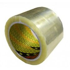 3 x Extra Wide 3M Clear Parcel Packing Tape 75mm x 66M