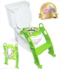 Karibu Potty Training Step Ladder Soft Padded Toilet Seat Award Winning