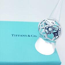 Tiffany & Co Anello-Argento Sterling Anello Marrakech Zellige Taglia P-reale/Nuovo di zecca