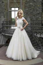 Novabella 30128 Princess Style Wedding Dress In Ivory Size EU 44 UK 16