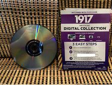 1917 4K (Google Play Digital Code+DVD, 2020)Sam mendes/WWI-World War.