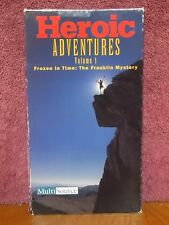 Heroic Adventures Vol. 1 Frozen in Time: Franklin Mystery VHS VIDEO DOCUMENTARY