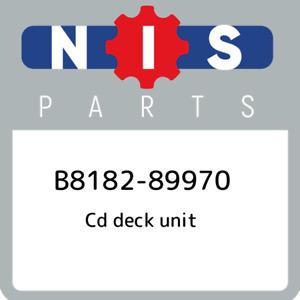 B8182-89970 Nissan Cd deck unit B818289970, New Genuine OEM Part