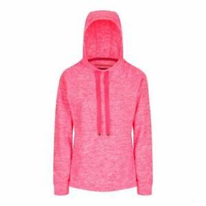 Regatta Calantha Womens Hooded Top Jumper Hoodie Marl Fleece Jacket RRP £40