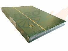 GREEN Leuchtturm 327381 Lighthouse Stockbook DIN A4, 32 pages, non-padded cover