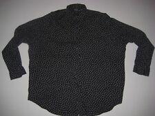 RALPH LAUREN Mens long sleeve LOWELL SPORT XLARGE XL 2XL Button Shirt Blue white