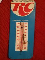 Vintage 1970 RC ROYAL CROWN COLA THERMOMETER SODA POP GENERAL/STORE ADVERTISING