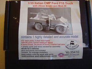 LZ Model, Italian CMP Ford F 15 Truck with Breda 20 cm.