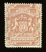 RHODESIA SCOTT 19 UNUSED OG BEAUTIFUL - CV $2,850!