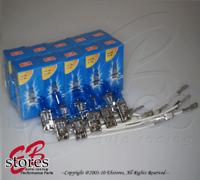 10pcs 5000K Super White H3 12V 100w Xenon Gas HID Foglight Light Bulb 5 pair